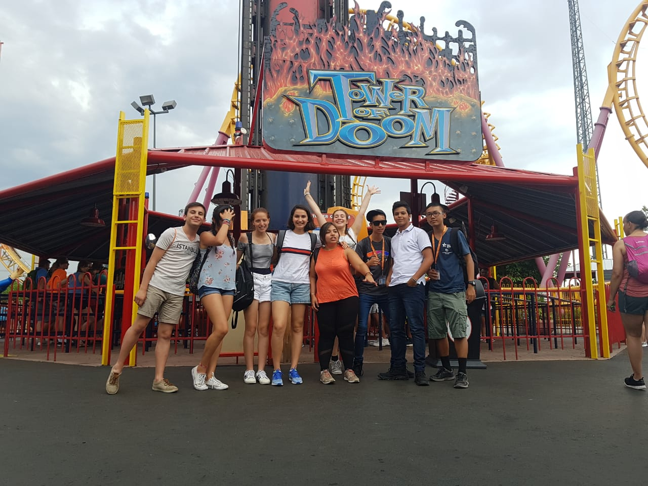 Group picture at Tower of Doom