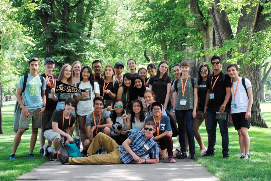 EducationUSA Academy at the University of Colorado Boulder students